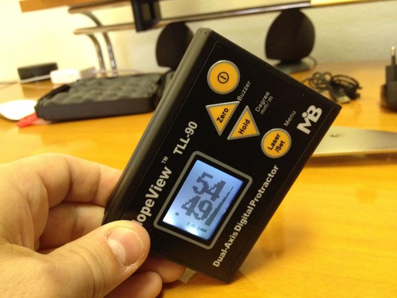 Inclinomètre 2 axes digital Incin014
