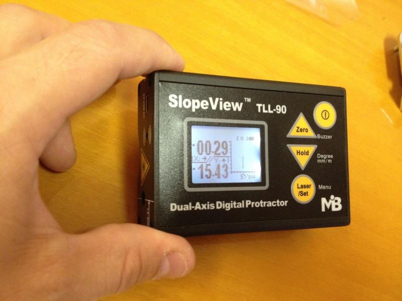 Inclinomètre 2 axes digital Incin015