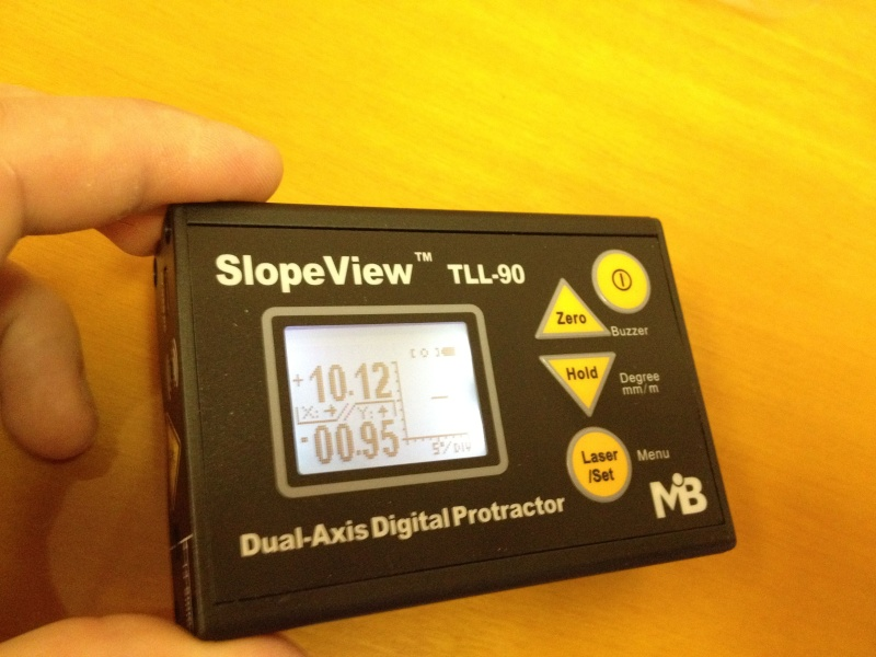 Inclinomètre 2 axes digital Incin016