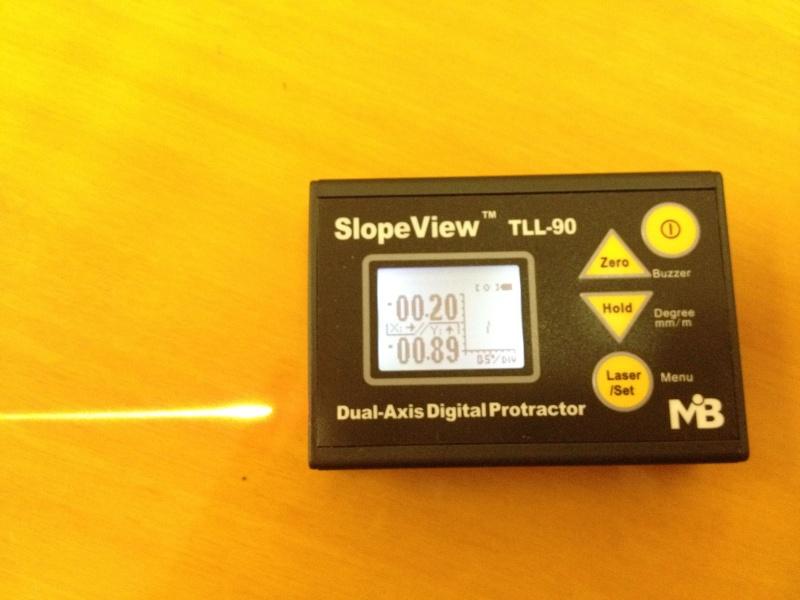 Inclinomètre 2 axes digital Incin110