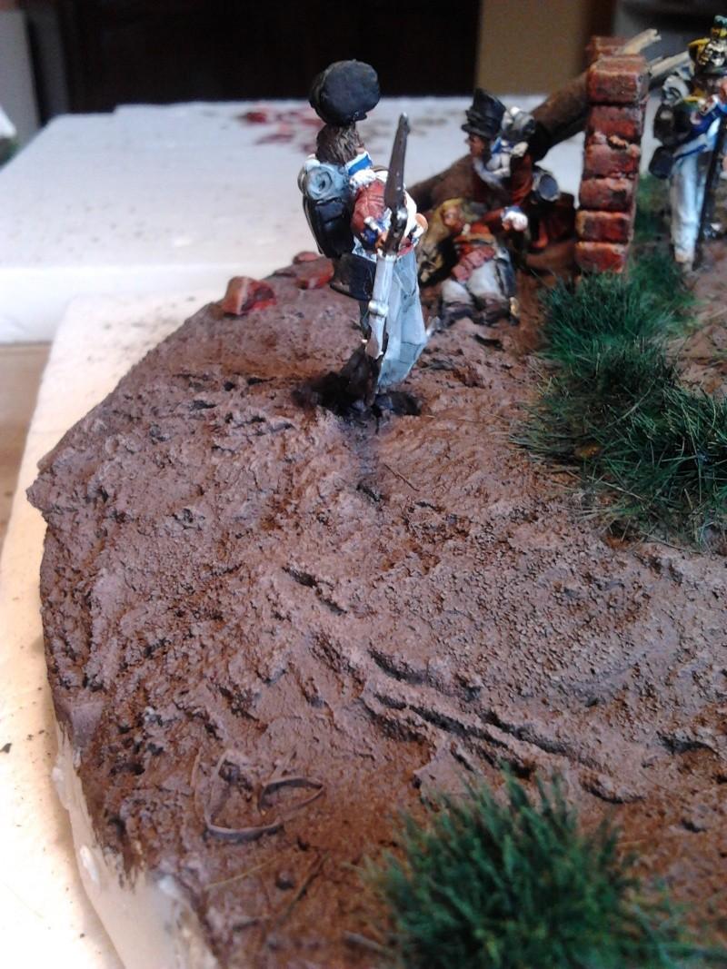 Projet diorama des combats à la ferme Hougoumont de Waterloo - Page 2 2012-023