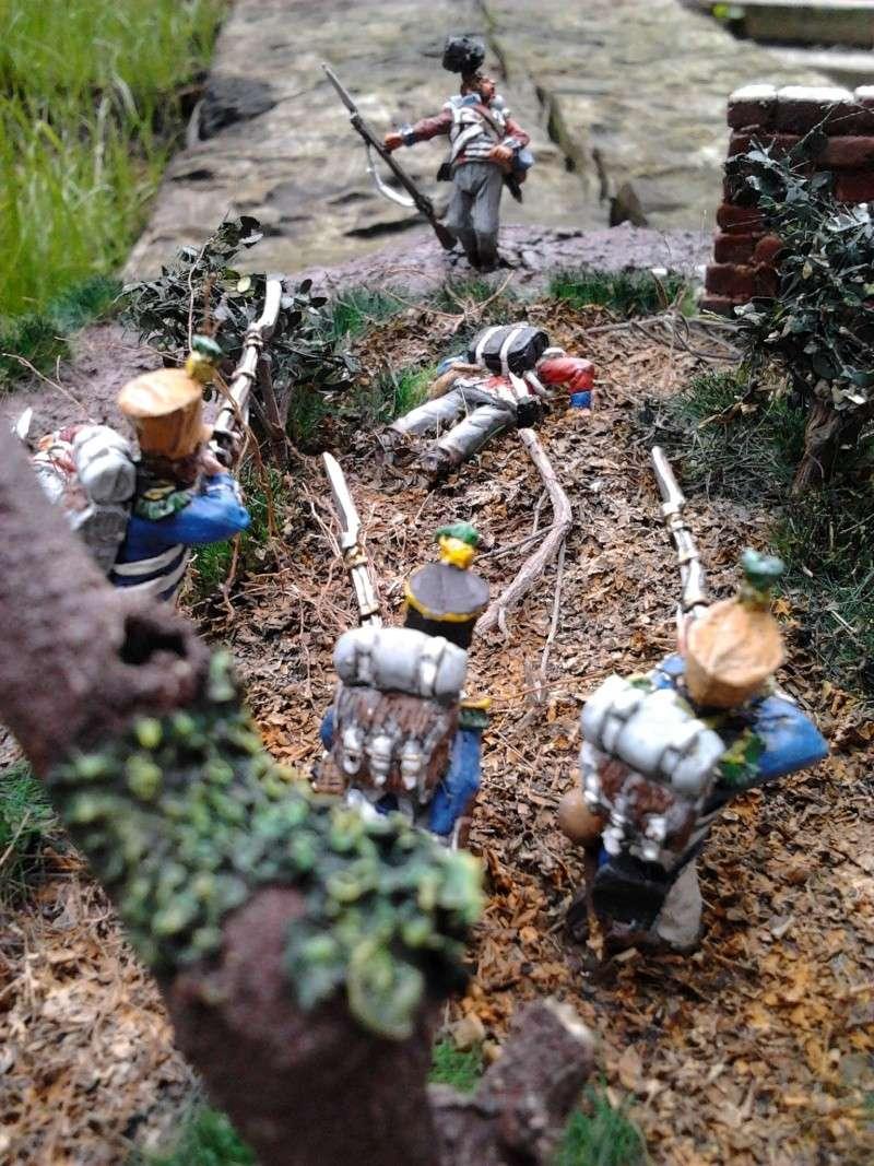 Projet diorama des combats à la ferme Hougoumont de Waterloo - Page 2 2012-113