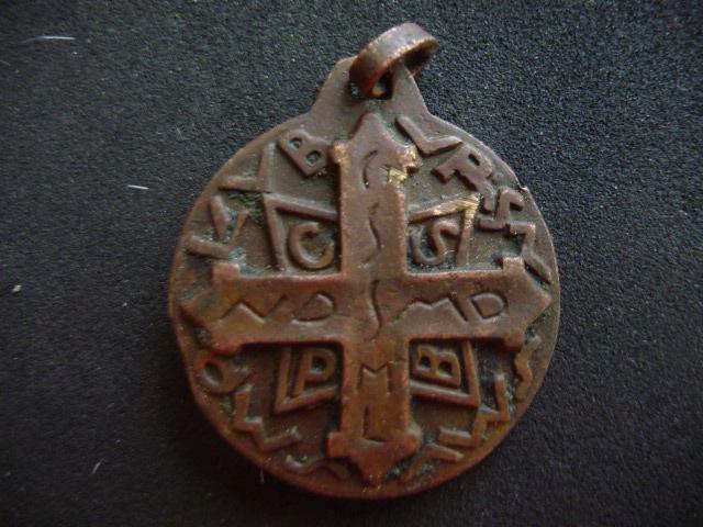 St-Benoît - fin XXème - porte-clé ou médaille ?  2_210