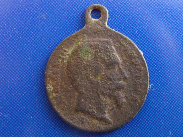 Médaille commémorative rattachement Lorraine à la France - Napoléon III P1100110