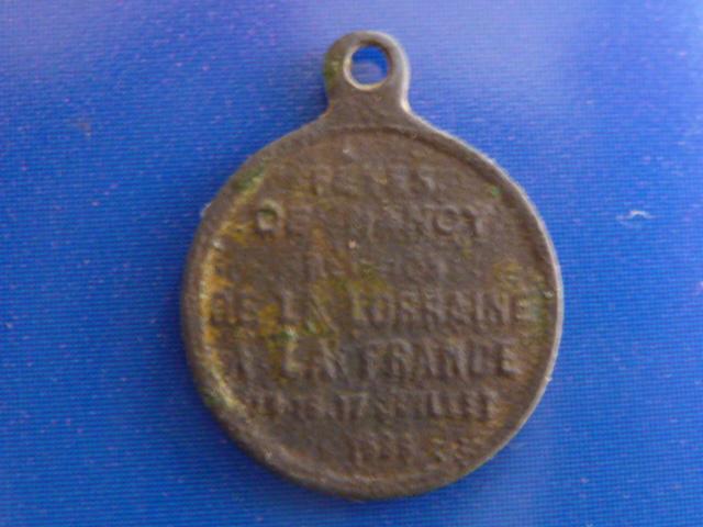 Médaille commémorative rattachement Lorraine à la France - Napoléon III P1100111