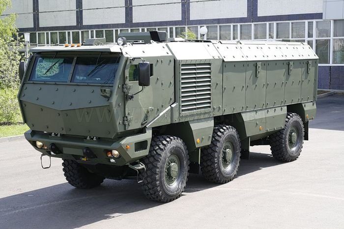 Future of Russian IFV/AFVs - Page 2 Kamaz-10