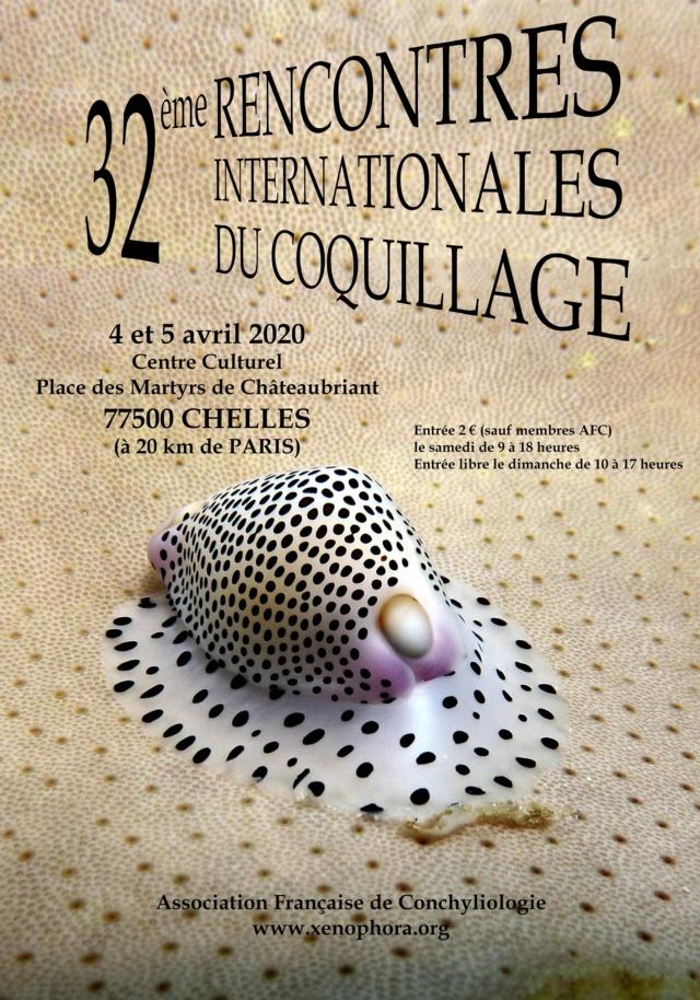 32ème Rencontres Internationales du Coquillage  Affich13