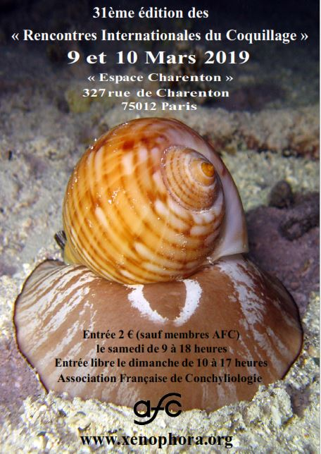 Paris 31 èmes Rencontres Internationales du Coquillage 9 & 10 Mars 2019 Ric20110