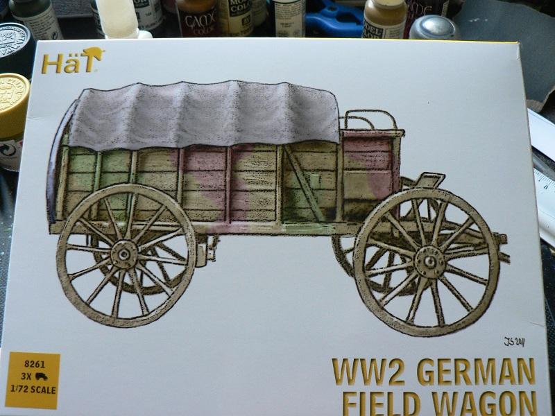 [HAT] WWII German Field Wagon Boite110