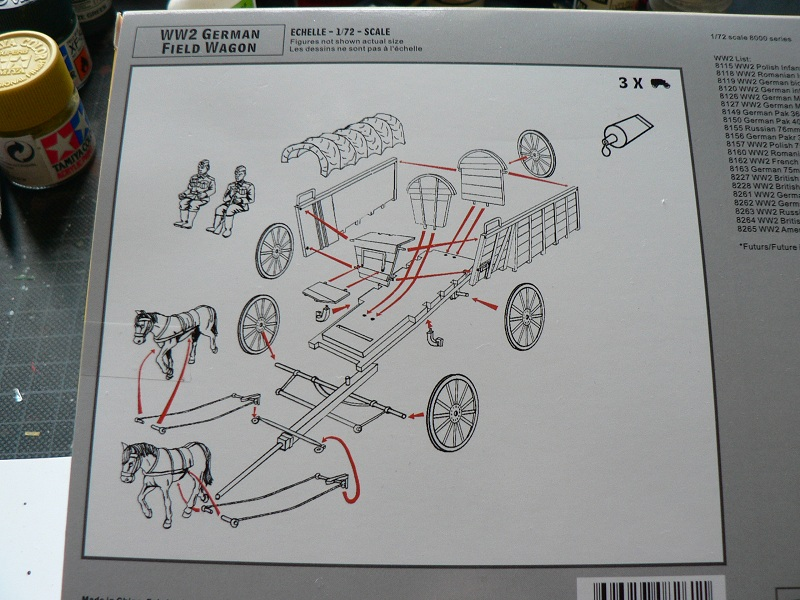 [HAT] WWII German Field Wagon Boite210