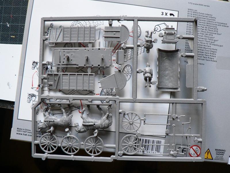 [HAT] WWII German Field Wagon Boite310