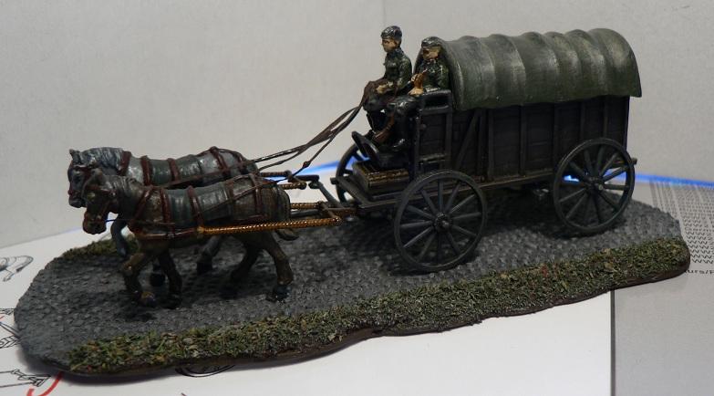 [HAT] WWII German Field Wagon Charet10