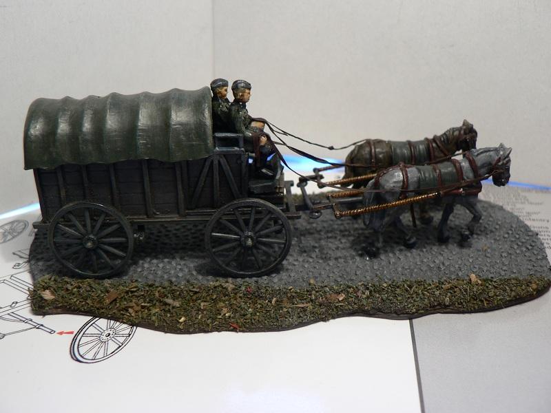 [HAT] WWII German Field Wagon Charet12
