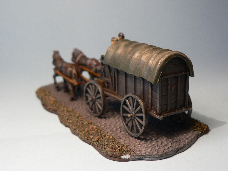 [HAT] WWII German Field Wagon Final410