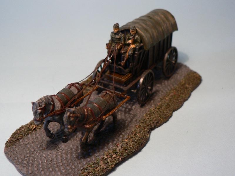 [HAT] WWII German Field Wagon Final610
