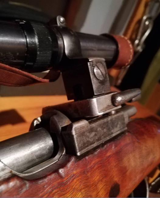 G98 à embases et montage lunette sniper WW1 Collie10