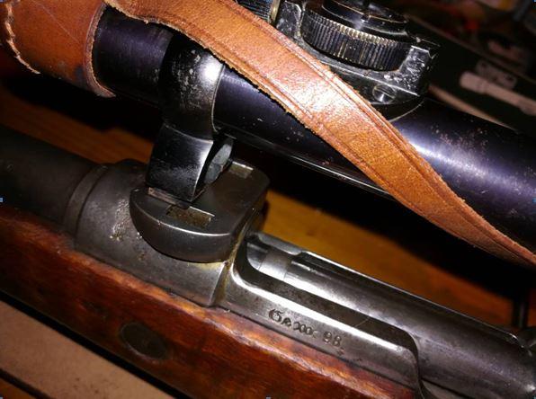 G98 à embases et montage lunette sniper WW1 Collie11