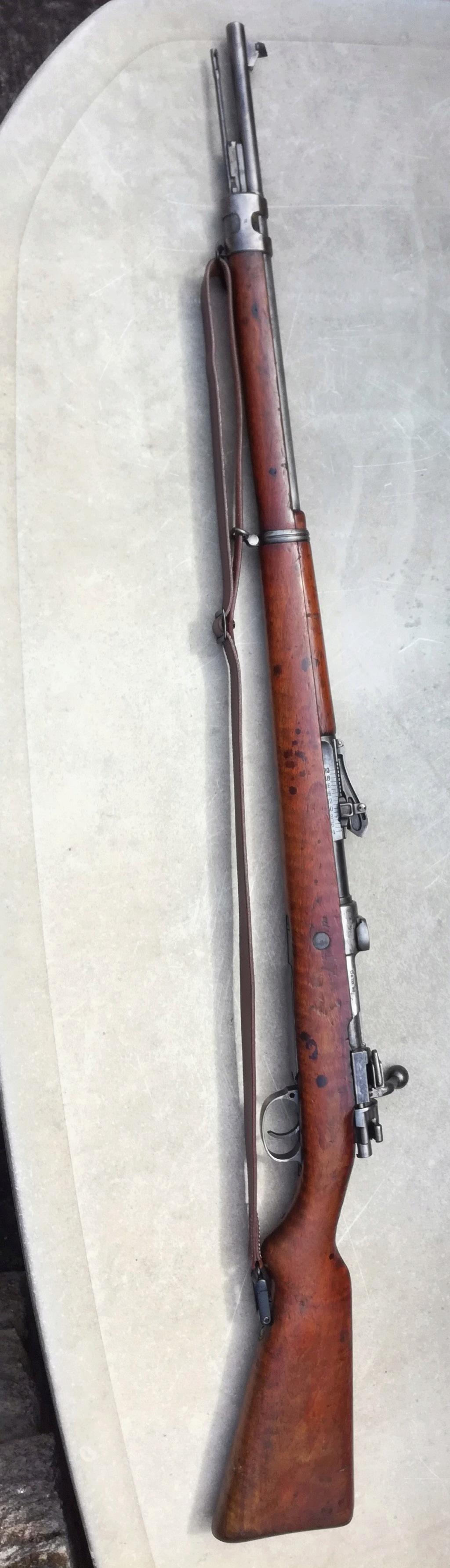 G98 à embases et montage lunette sniper WW1 Img_2038