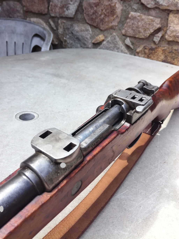 G98 à embases et montage lunette sniper WW1 Img_2043