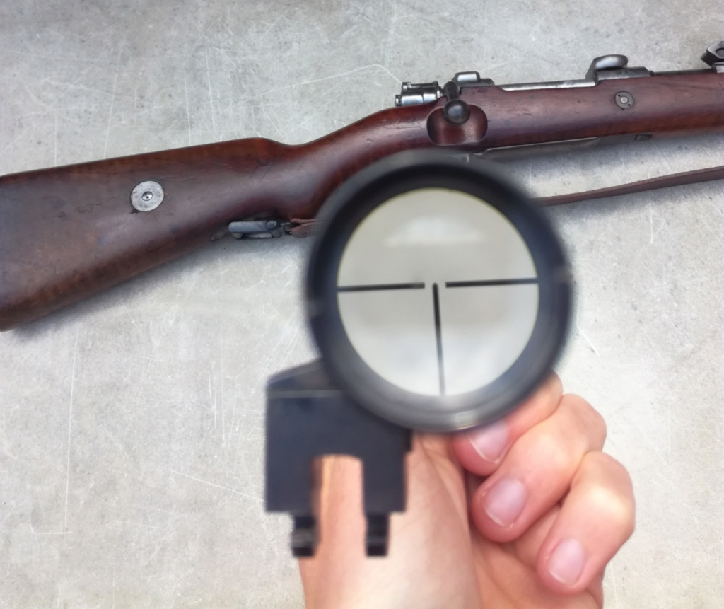 G98 à embases et montage lunette sniper WW1 Img_2050