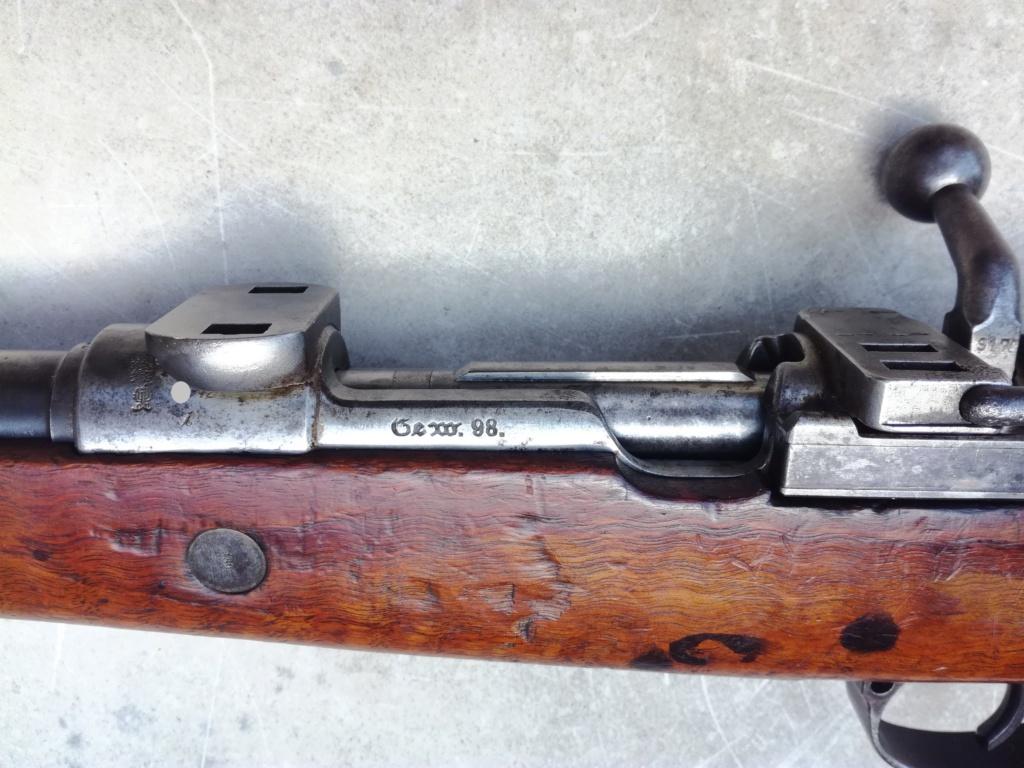 G98 à embases et montage lunette sniper WW1 Img_2052
