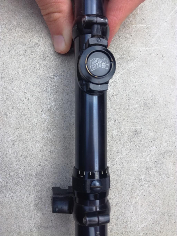 G98 à embases et montage lunette sniper WW1 Img_2055