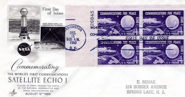 Philatélie Spatiale USA - 1960 - ECHO I 1960_112