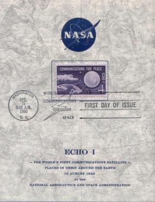 Philatélie Spatiale USA - 1960 - ECHO I 1960_113