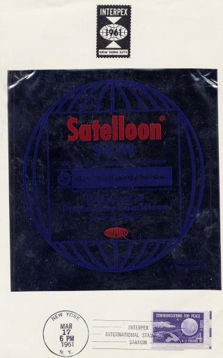 Philatélie Spatiale USA - 1960 - ECHO I 1961_010
