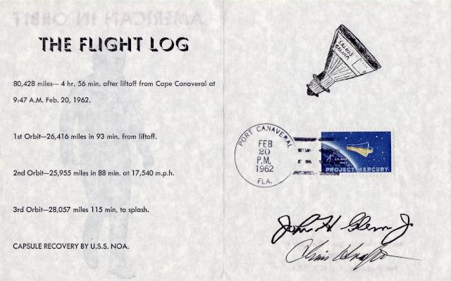 Philatélie Spatiale USA - 1962 - Programme Mercury 1962_014
