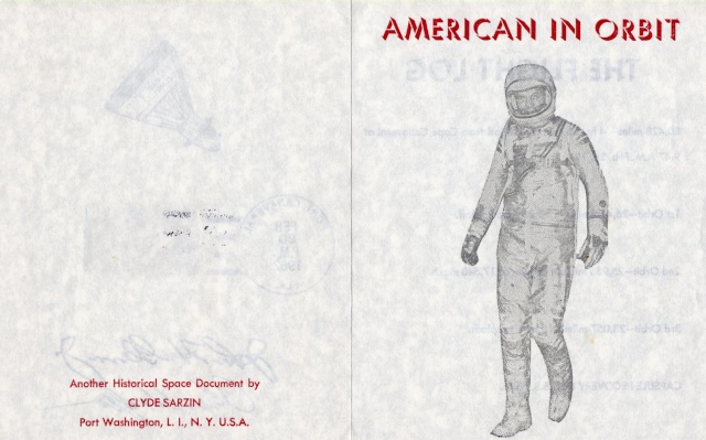 Philatélie Spatiale USA - 1962 - Programme Mercury 1962_015
