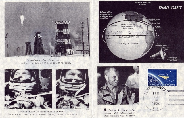 Philatélie Spatiale USA - 1962 - Programme Mercury 1962_016