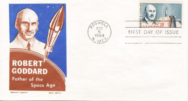 Philatélie Spatiale USA - 1964 - Robert H. Goddard 1964_110