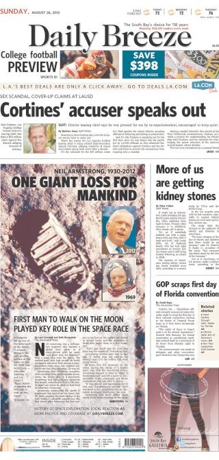 Disparition de Neil Armstrong - La couverture médiatique par la presse américaine 2012_013