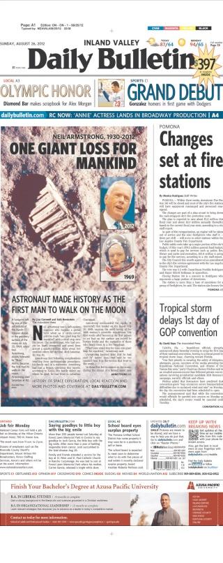 Disparition de Neil Armstrong - La couverture médiatique par la presse américaine 2012_014