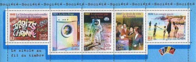 Astrophilatélie - Timbre Apollo 11 émis par la France le 30 septembre 2000 270_0010