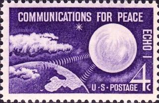 Philatélie Spatiale USA - 1960 - ECHO I 800px-11