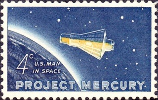 Philatélie Spatiale USA - 1962 - Programme Mercury 800px-12