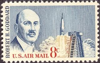 Philatélie Spatiale USA - 1964 - Robert H. Goddard 800px-13