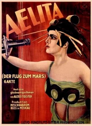 Cinéma - Aelita (film de science-fiction de 1924) Aelita12
