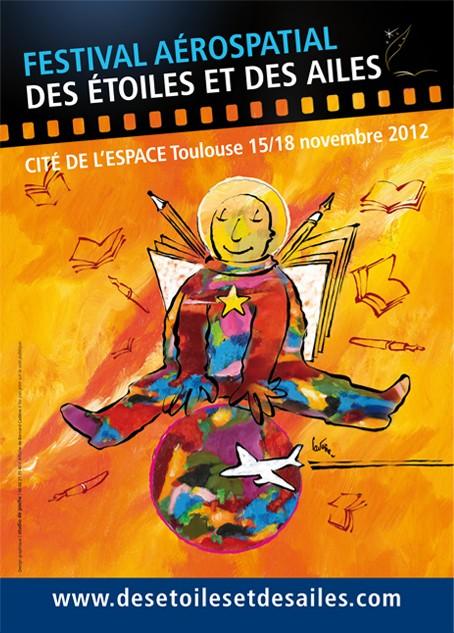 15 au 18 novembre 2012 - Festival des Etoiles et des Ailes - Toulouse Affich11