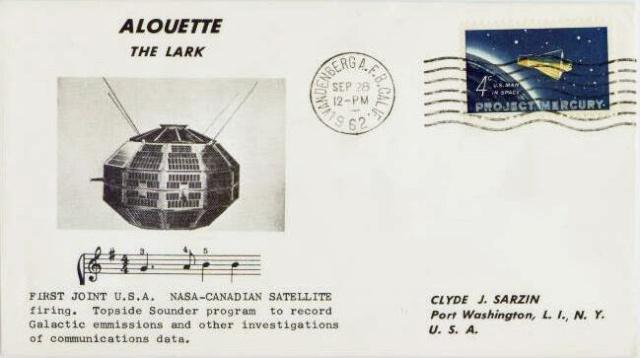 50ème anniversaire du programme canadien / 1962 - 2012 / Alouette I Alouet12