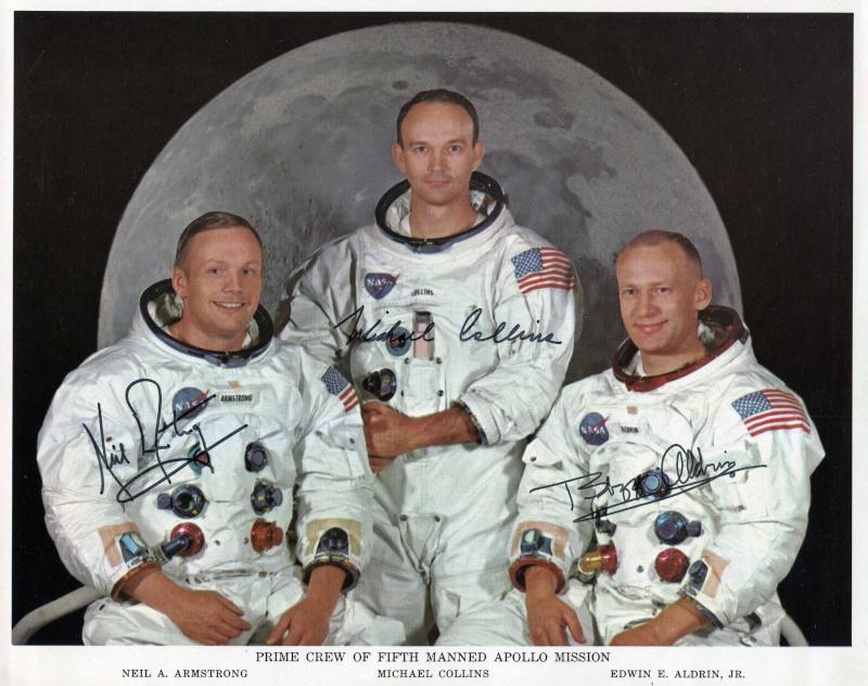 Autopen - Equipage Apollo 11 (Armstrong - Aldrin - Collins) Apollo20