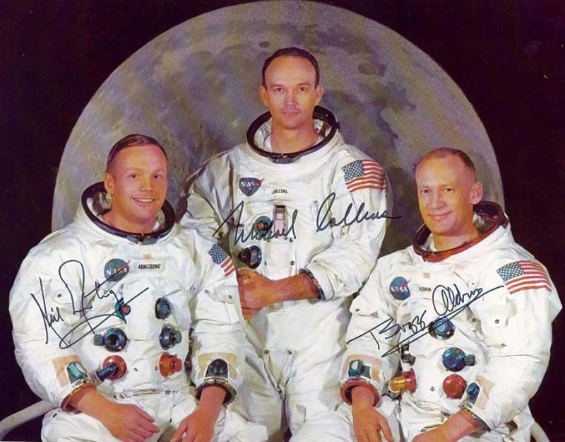 Autopen - Equipage Apollo 11 (Armstrong - Aldrin - Collins) Apollo21