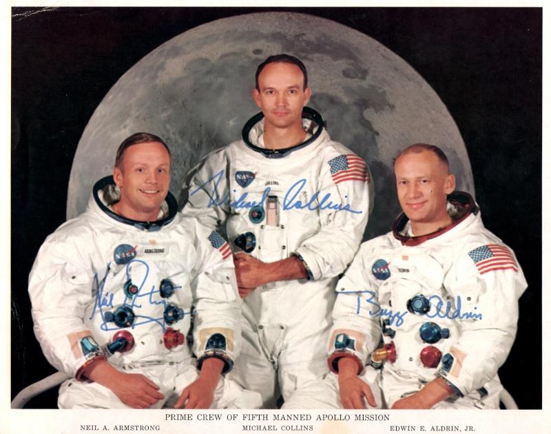 Autopen - Equipage Apollo 11 (Armstrong - Aldrin - Collins) Apollo22