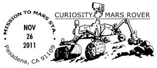 Exploration de la planète Mars par la philatélie Cancel10