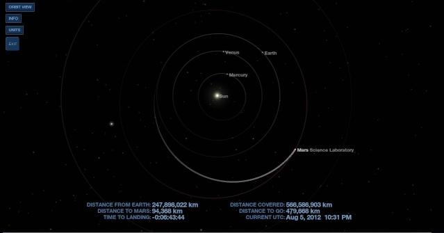 MSL et Curiosity arrivent sur la planète Mars Captur10