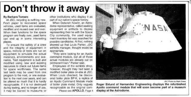 boilerplate - Boilerplate Apollo - Le BP-K du Space Center de Houston Captur23