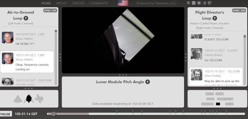 Apollo 11 - Revivez l'atterrissage en direct ... Captur26