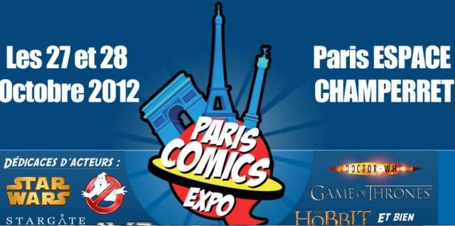 27 et 28 octobre 2012 / Paris Comics Expo / Star Wars et Stargate Captur27